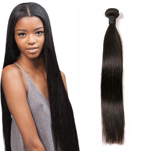 Daimer 8a brazilian straight hair weave 1 bundle unprocessed daimer 8a brazilian straight hair weave 1 bundle unprocessed vrigin human hair weft no tangle total pmusecretfo Image collections