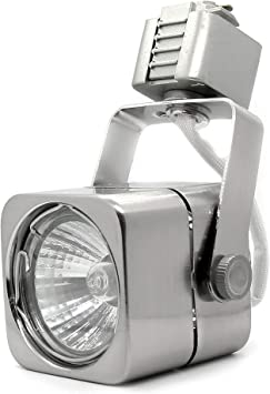 LT Track Light Replacement Head Lightolier 2 Wire Satin Nicke Color