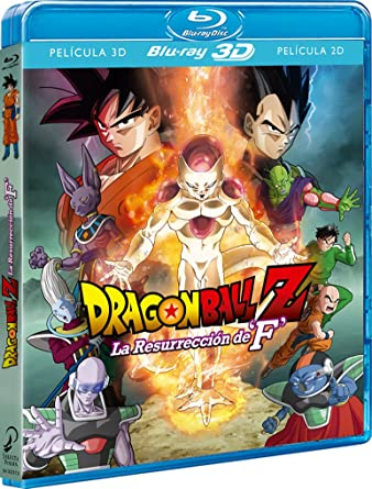 Dragon Ball Z La Resurrección De F. - Blu-Ray 3d Blu-ray: Amazon ...