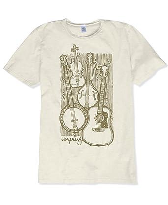 1256b5c86f Amazon.com: Soul Flower Unplug Acoustic Organic Cotton Short Sleeve ...