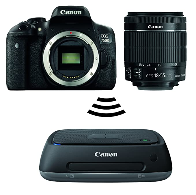 Canon EOS 750D con EF-S(18-55mm) IS STM Plus Connect estación ...