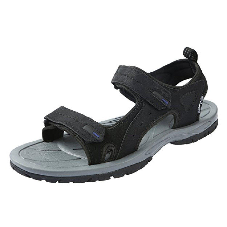 Northside Men's Riverside II Summer Sandal, Black/Royal, 8 D(M) US; with a Waterproof Wet Dry Bag