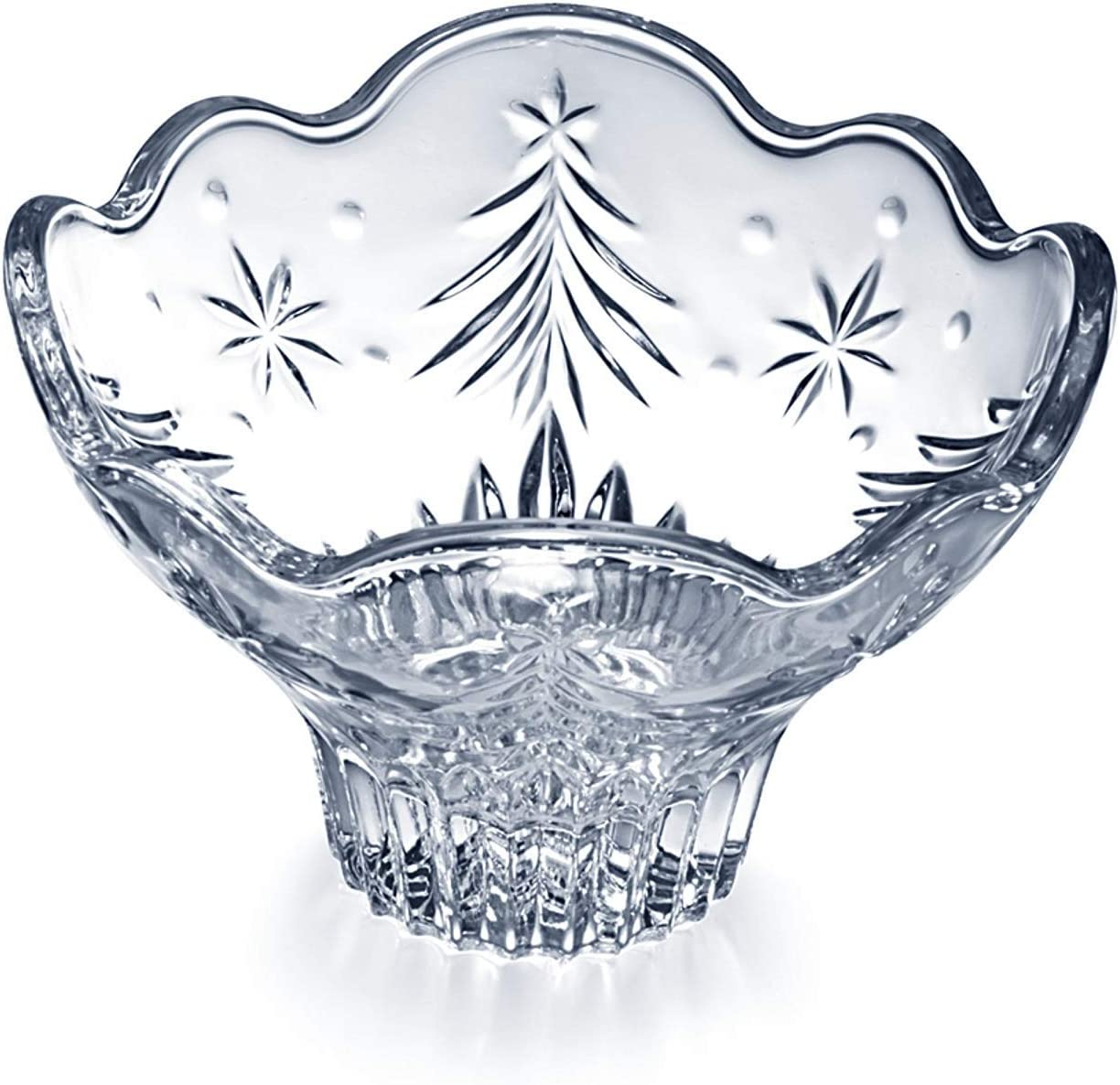 celebrations by mikasa bless this home glass dish