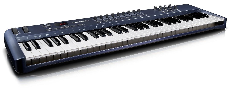 M-Audio Oxygen 61 - Teclado MIDI (USB, 238 x 94 x 1036 mm, Intel Pentium III 1GHz, 512 MB): Amazon.es: Instrumentos musicales