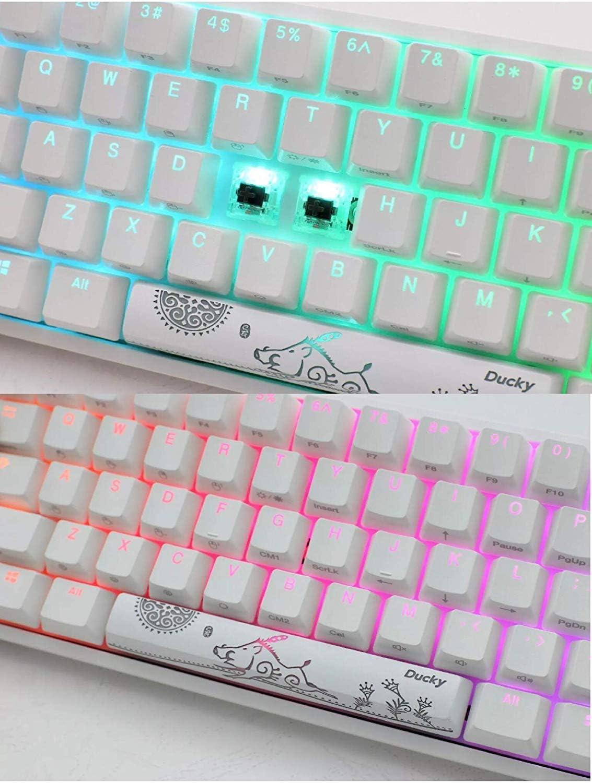 Ducky One 2 Mini teclado mecánico para juegos RGB 60% Cherry ...