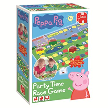 jumbo peppa pig party time race game
