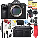 Sony Alpha a9 Mirrorless Interchangeable Lens Digital Camera (Body Only) + 64GB Dual Memory & Accessory Bundle