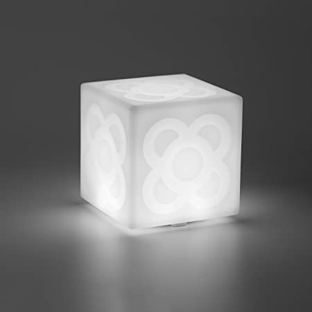 LAMPANOT de Faro Barcelona. Lámpara decorativa LED, diseño del Panot de las aceras de Barcelona, 3 intensidades, batería recargable USB incluido, lámpara regalo, obsequio, Lámpara portátil.: Amazon.es: Hogar