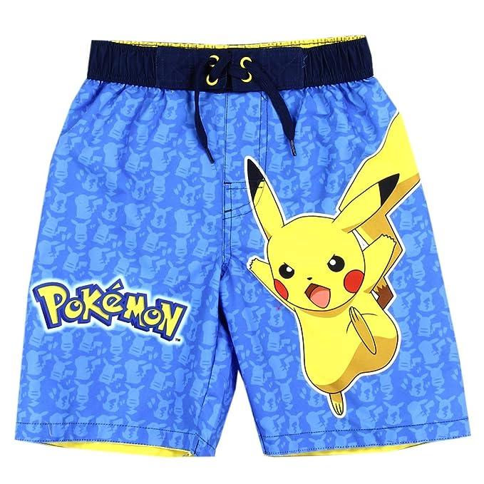 Amazon.com: Authentic Pokemon Boys Swim Trunk UPF 50+ ...