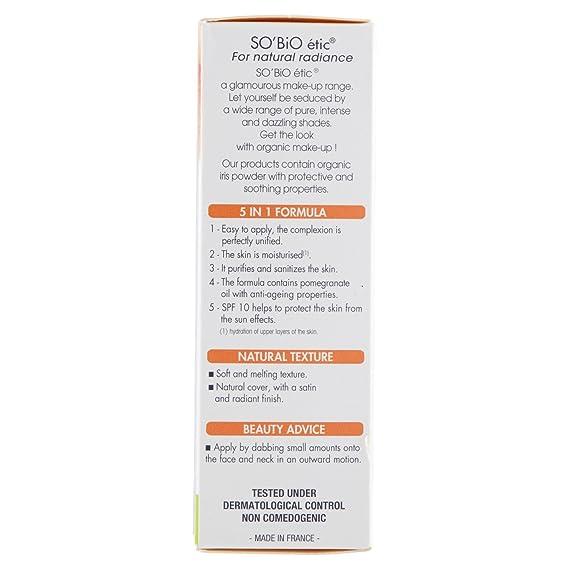 SoBio ETIC Fundación BB Cream 05 de enero 02 de Luster Beige Tubo 30 ml - Juego de 2: Amazon.es: Belleza