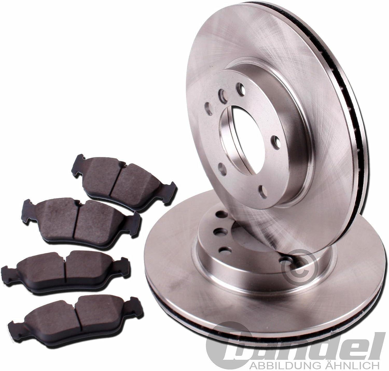 Bremsbel/äge ATE P-A-02-00293 Bremsanlage 2 Bremsscheiben /Ø259 Voll