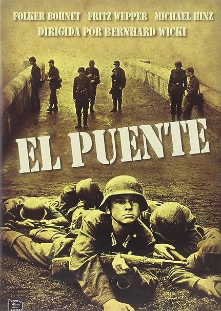 El Puente [DVD]: Amazon.es: Folker Bohnet, Fritz Wepper ...