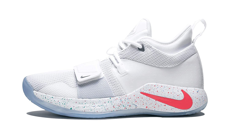 uk availability 63f6d 02333 Amazon.com | Nike PG 2.5 Playstation - US 8.5 White/Multi ...