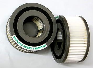 Quick Vibe Vac 2 filters to fit Dirt Devil  F15 HEPA