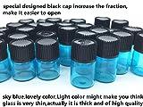Elufly 100Set 1/4 Dram Glass Vial 1ML Reagent