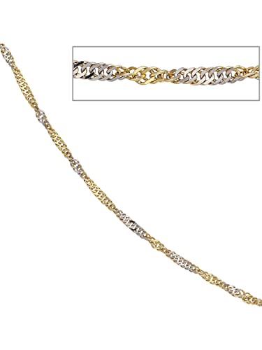 Necklace singapore chain necklace 585 Yellow Gold Chain