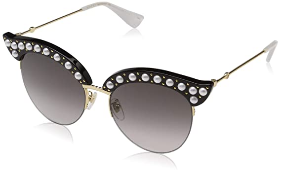 0474aaf7a05f4 Amazon.com  Gucci Womens Women s Gg0212s 53Mm Sunglasses  Clothing