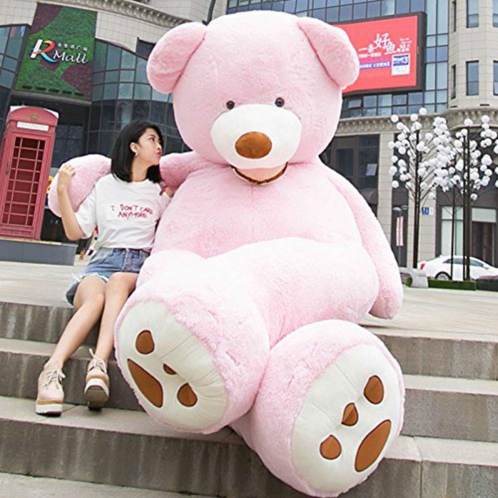 バーゲンで URAKUTOYSぬいぐるみ 特大 くま/テディベア ピンク) 可愛い熊 動物 大きい 特大 B07DYK5426/巨大 くまぬいぐるみ/熊縫い包み/クマ抱き枕/お祝い/ふわふわぬいぐるみ(260cm, ピンク) B07DYK5426, アールdeフルール ボンサーンス:c04ab877 --- goumitra.com