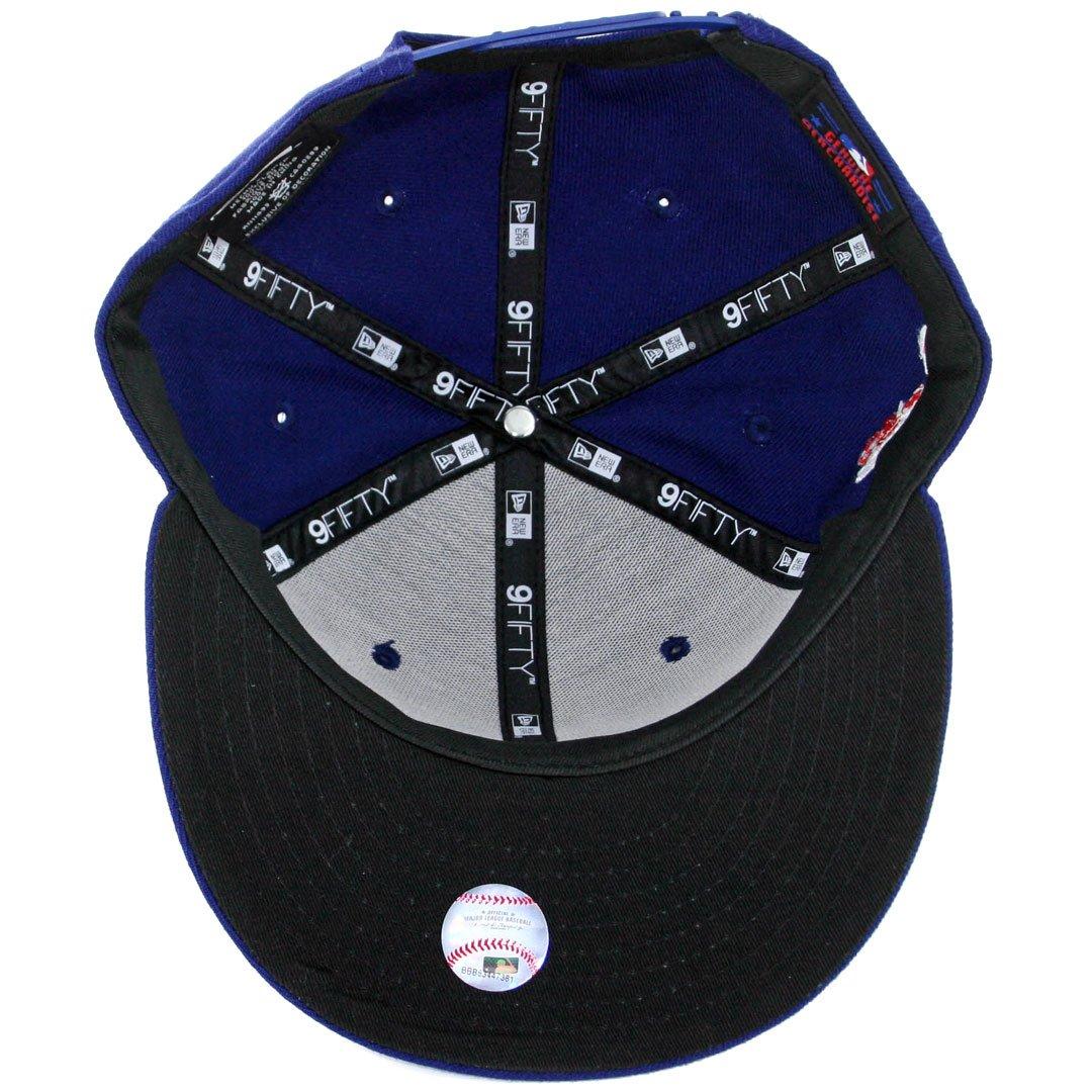1e79df06 Amazon.com : New Era 9Fifty Los Angeles Dodgers Snapback Hat (Royal Blue)  Team Color MLB Cap : Sports & Outdoors