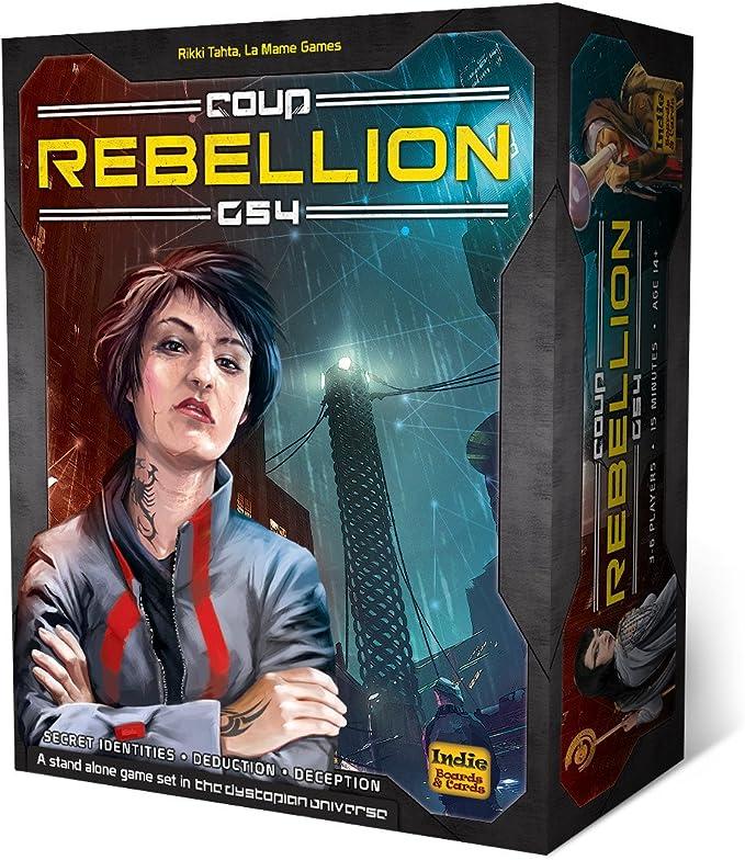 Indie Boards & Cards ibcg541 Golpe Rebelión G54 Juego de Cartas: Amazon.es: Juguetes y juegos