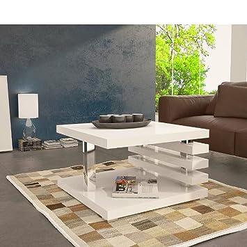 Couchtisch Ausgefallen couchtisch ausgefallen silber weiß weiss 60x60 beine wohnzimmer