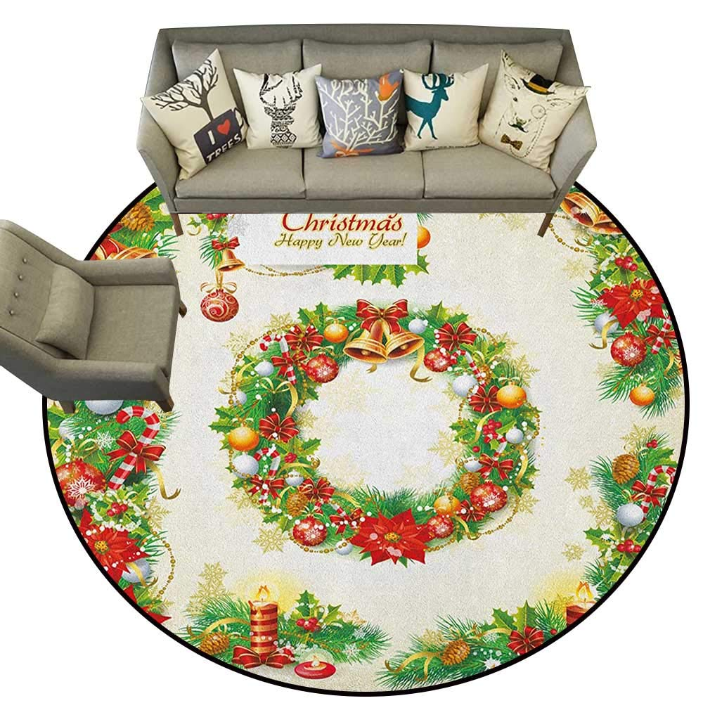 Christmas,Rubber mat Set of Old Fashioned Nostalgic Christmas Banners with a Greeting Card Art Print D72 Bathroom Floor mats