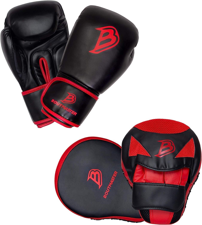 2 Pairs//Set Kids Boxing Gloves PU Leather 8oz Boys Girls Punching Bag MMA Muay