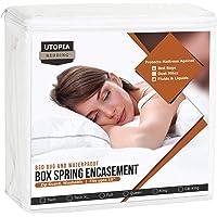 Utopia Bedding Premium Bed Bug Proof Box Spring Encasement