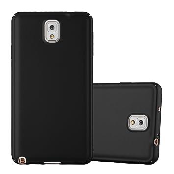 Cadorabo Funda para Samsung Galaxy Note 3 en Metal Negro - Cubierta Protección de Plástico Duro Super Delgada e Inflexible con Antichoque - Case Cover ...