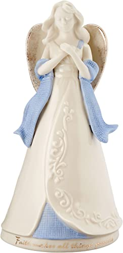 Lenox Gifts of Grace Musical Figurine, Faith Makes All Things Possible