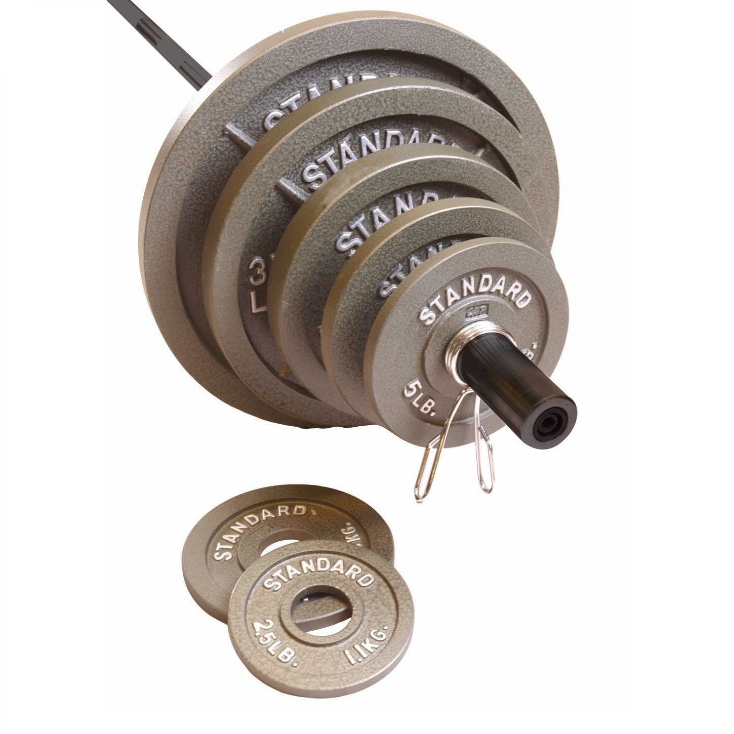 CAP Barbell 300 pound Olympic set (including 7' bar)