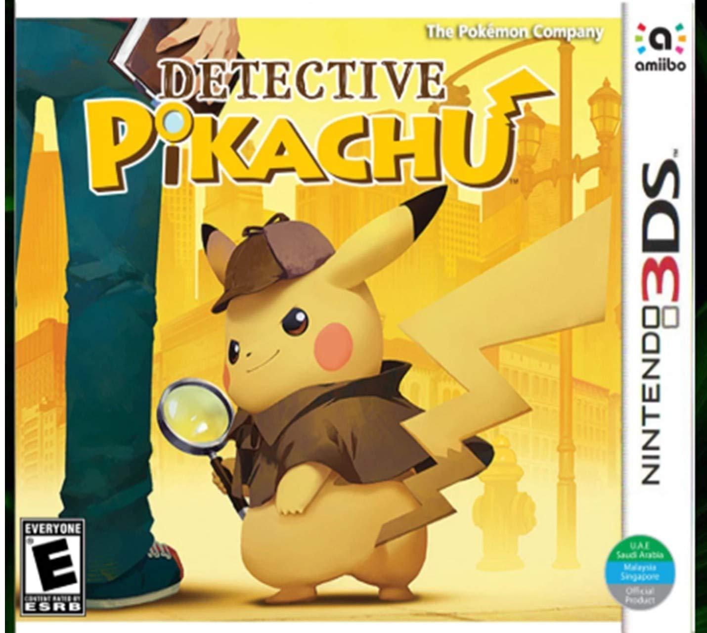 Amazon Com Nintendo 3ds Detective Pikachu World Edition Video