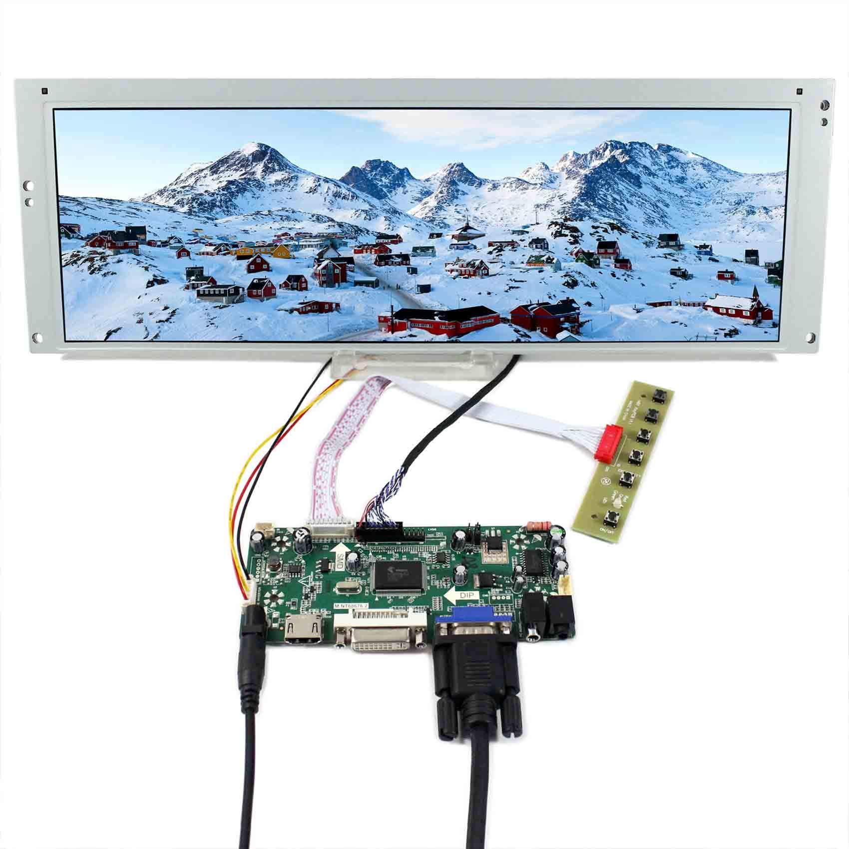Controladora LCD HDMI VGA 14.9 1280x390 LTA149B780F