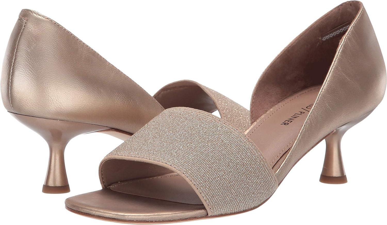 Light Bronze Metallic Elastic Donald J Pliner Womens Cgold