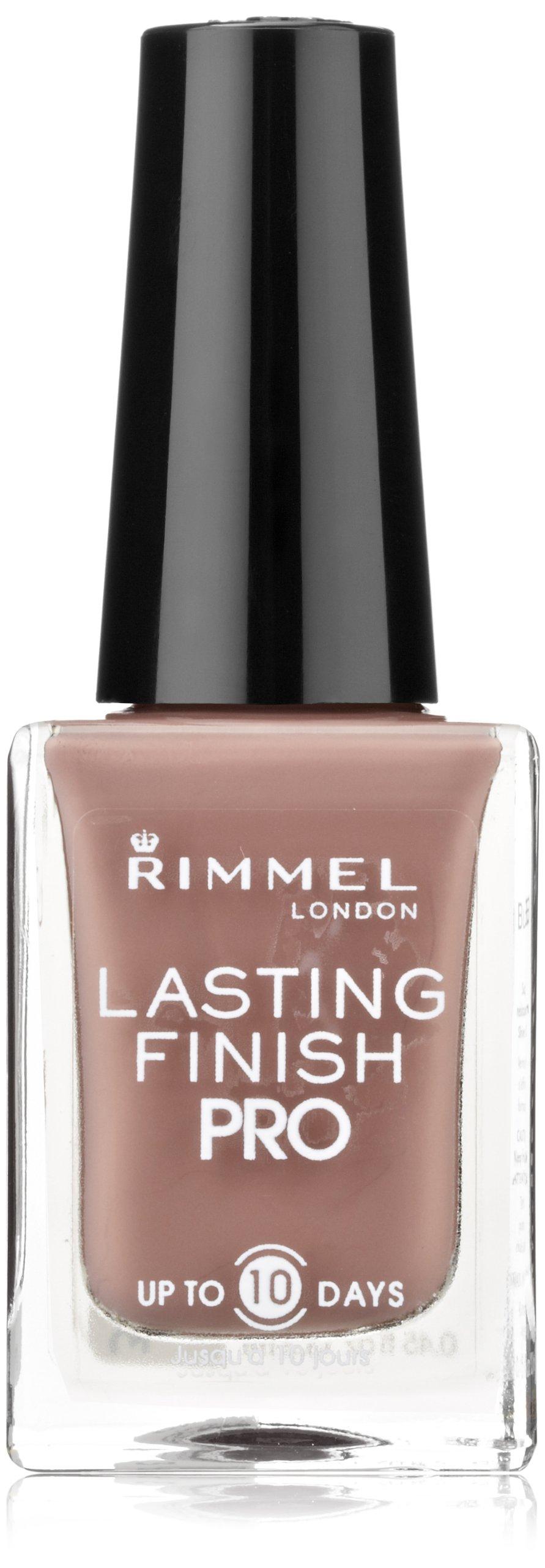 Amazon.com: Rimmel Lasting Finish Pro Nail Enamel Black Satin: Beauty