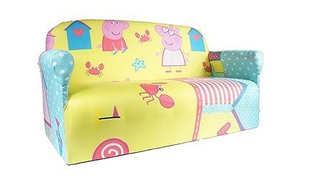 PEPPA PIG CHILDRENS BRANDED CARTOON CHARACTER SOFA CHAIR BEDROOM PLAYROOM  KIDS SEAT