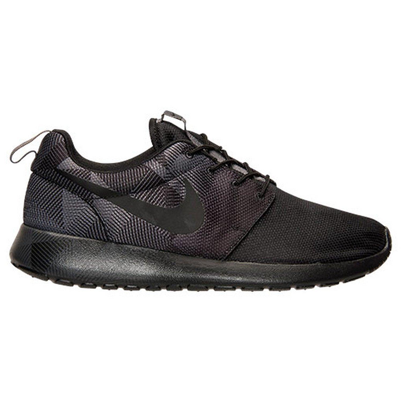 Nike Roshe One Print, Zapatillas de Running para Hombre 42.5 EU|Varios Colores (Negro / Gris (Black / Black-dark Grey))