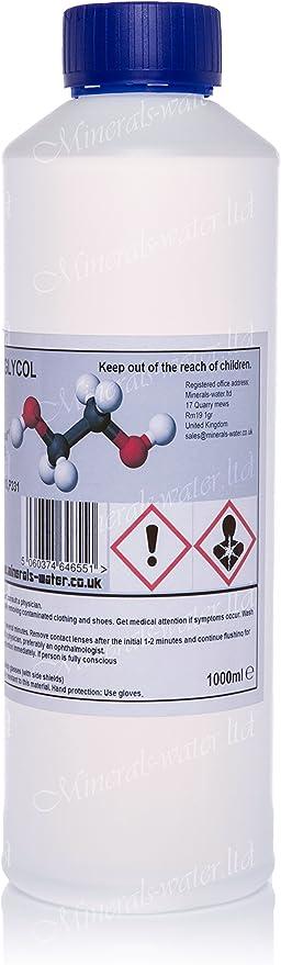1l Mono Ethylen Glykol Ethylen Glykol 99 Meg Ethandiol Make Sicher Zu Kasse Mit Minerals Water Ltd Zu Get What S Auf Die Bild Garten