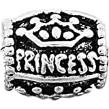 Charm Buddy Princess Charms Bead Fits Silver Charm Bracelets Jewellery
