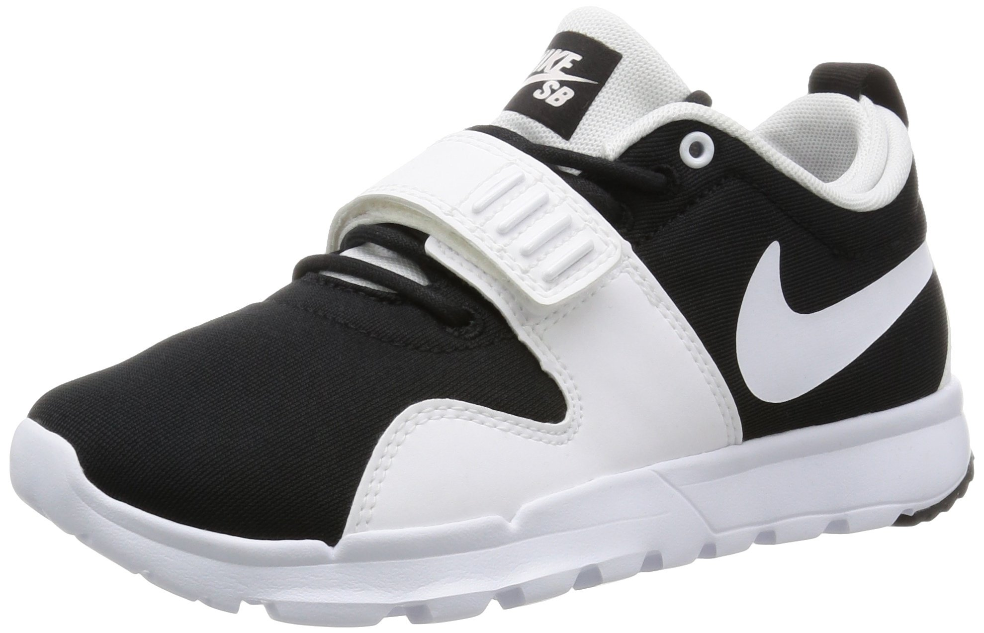 NIKE Trainerendor Mens Skateboarding-Shoes 616575-011_9.5 - Black/White