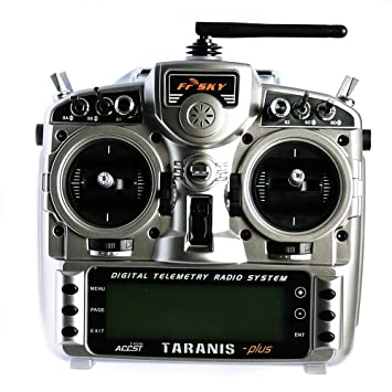 FrSky Taranis X9D Plus 2 4GHz Telemetry Radio & Aluminum Case Mode 2  Transmitter