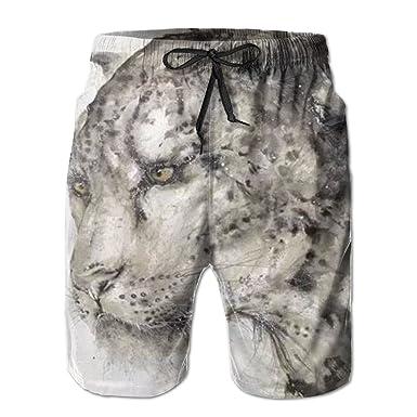 a6ba134815 Fashion Men's Beach Short Pants Graffiti Puma Print The Beach Board Shorts  Quick-drying Swim