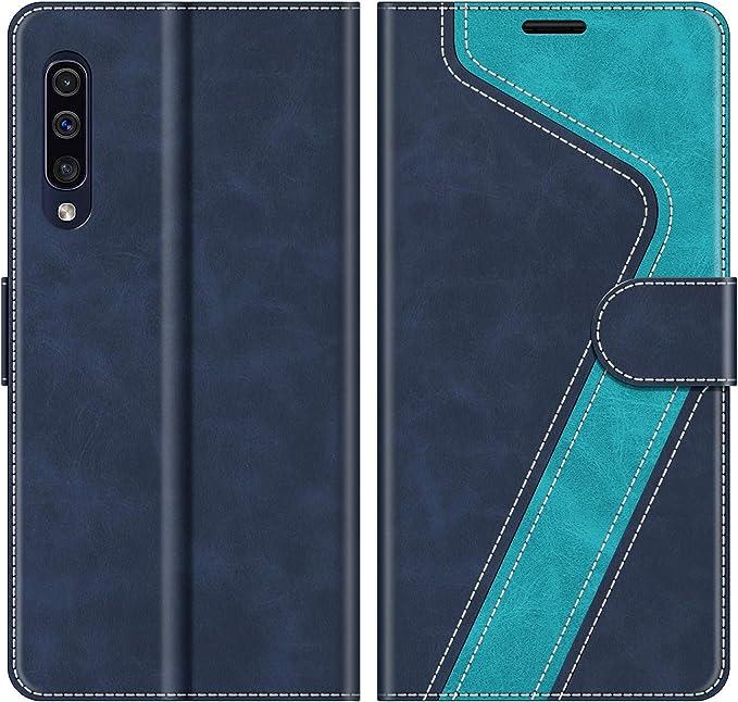 Mobesv Handyhülle Für Samsung Galaxy A50 Hülle Leder Elektronik
