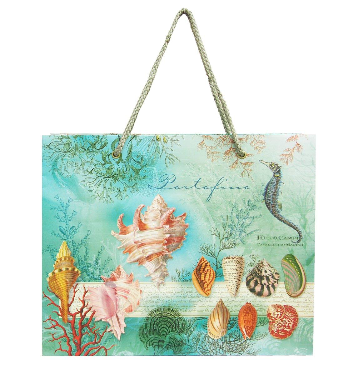 2a0580a53d32 Amazon.co.jp: パンチスタジオ ペーパーギフトバッグ Mサイズ (海の宝物) 56659: ホーム&キッチン