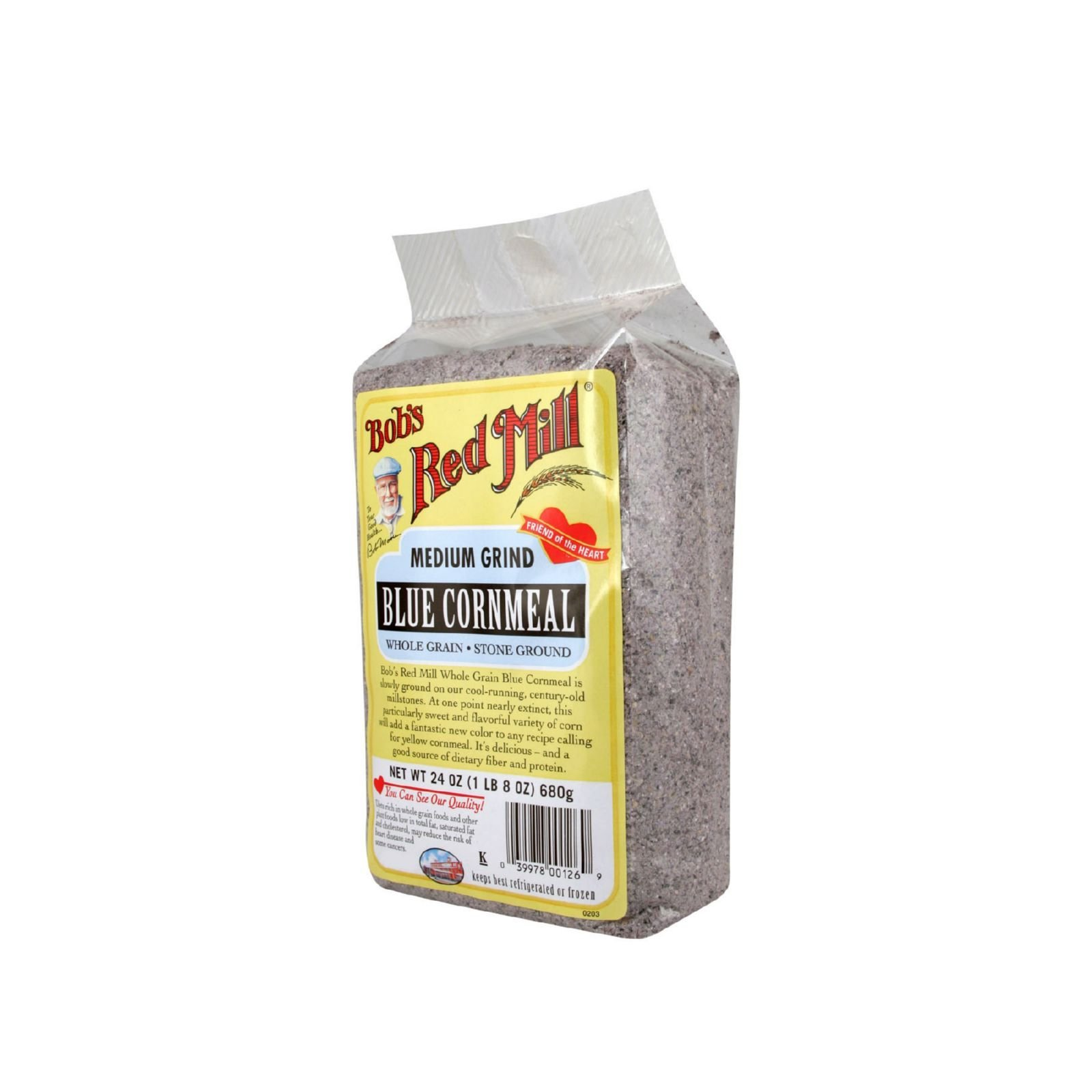 Bobs Red Mill Blue Cornmeal - 24 oz - Case of 4