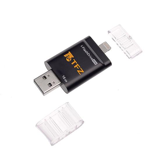 15 opinioni per TFZ- iPhone flash drive card reader (16 GB nero)