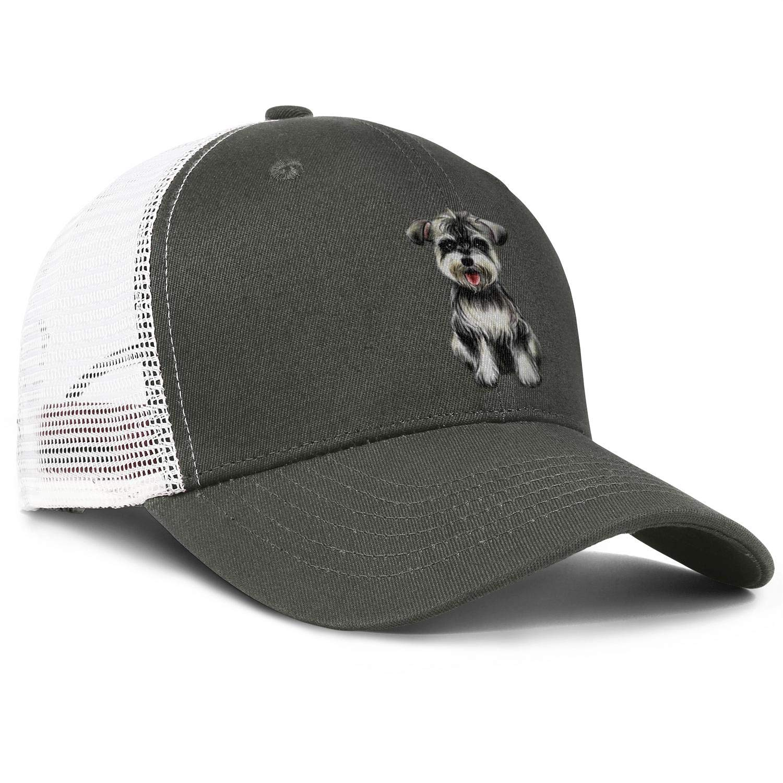 Charming Dog Adjustable Baseball Visor Cap,Mesh Hat,Men Women Athletic Hats