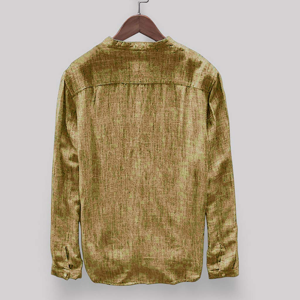 Lookatool Mens T-Shirt Men Casual Slim Fit Short Sleeve Henley for Men Shirts #19040108#