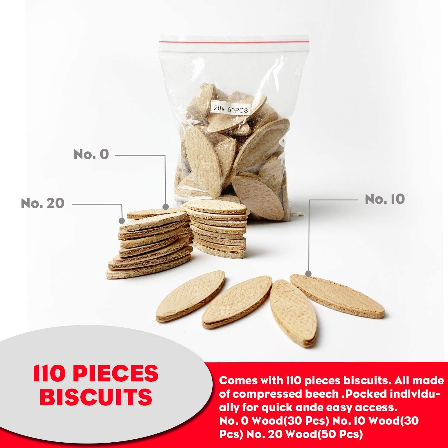 C0404 Plate Joiner Biscuits Size 20-200 pcs