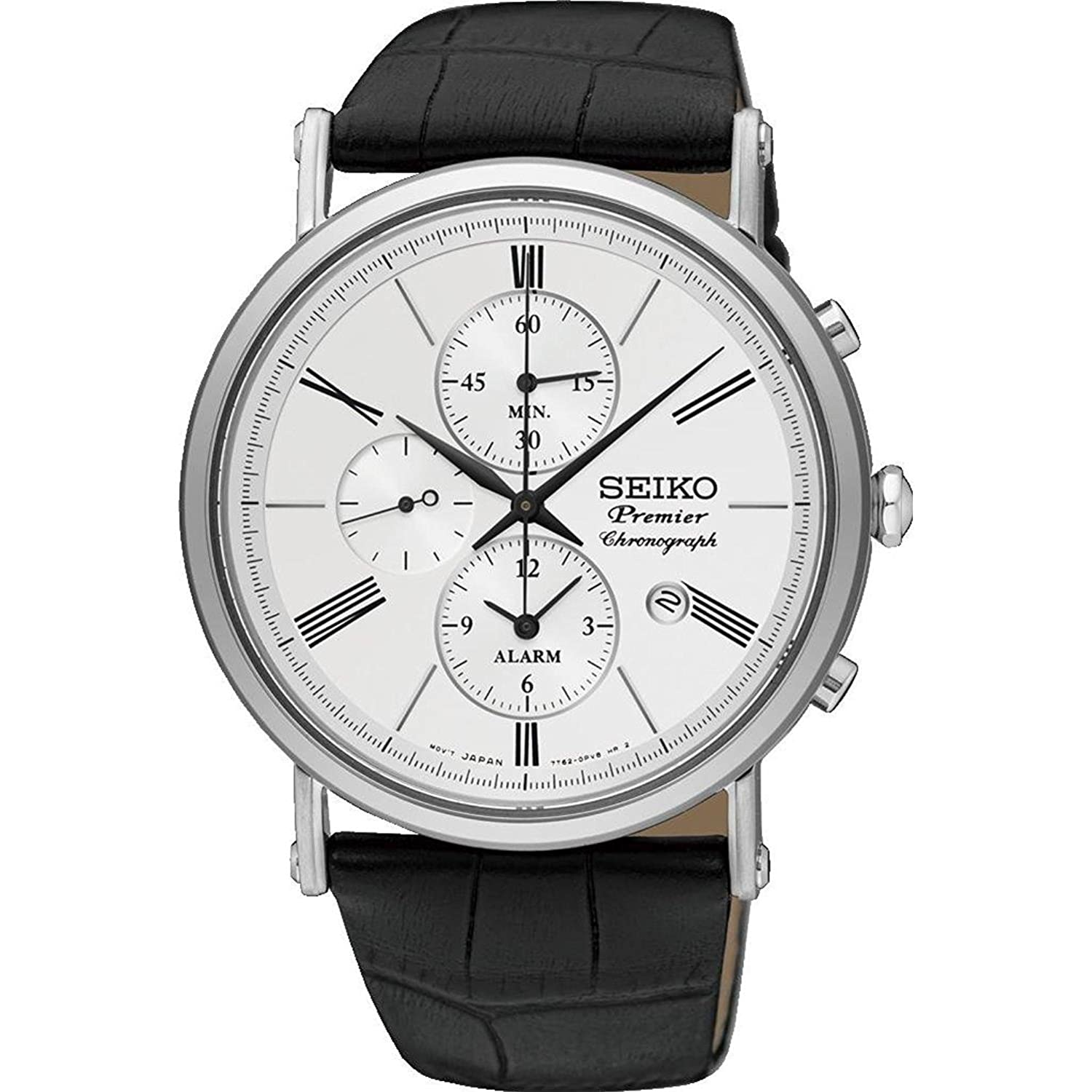 handsome chronograph seiko is mediums retains cal a military simplicity use watch watches its which this